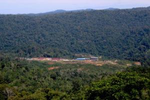 Batang Toru hydropower project area in North Sumatra, South Tapanuli, North Sumatra, Indonesia, Tonggo Simangunsong