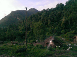A village with electricity in Nagaland, powered by a hydroger (Image: Nagaland Empowerment of People through Energy Development