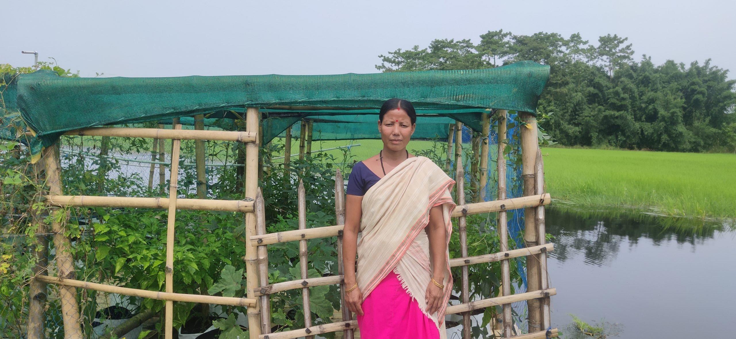 Rombha Payeng, floating farm, Majuli, Assam, India, Gurvinder Singh