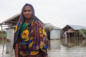 Flood victim in Bangladesh, Md. Rakibul Hasan