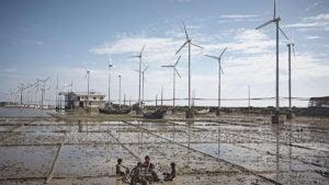 Bangladesh wind farm Kutubdia energy COP26