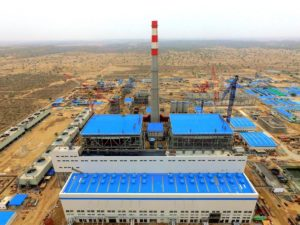 A power plant set up in the Tharparkar desert by Engro Powergen Thar Private Limited, Image Sindh Engro Coal Mining Company