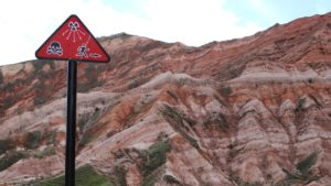 Mailuu-Suu uranium mine in Kyrgyzstan